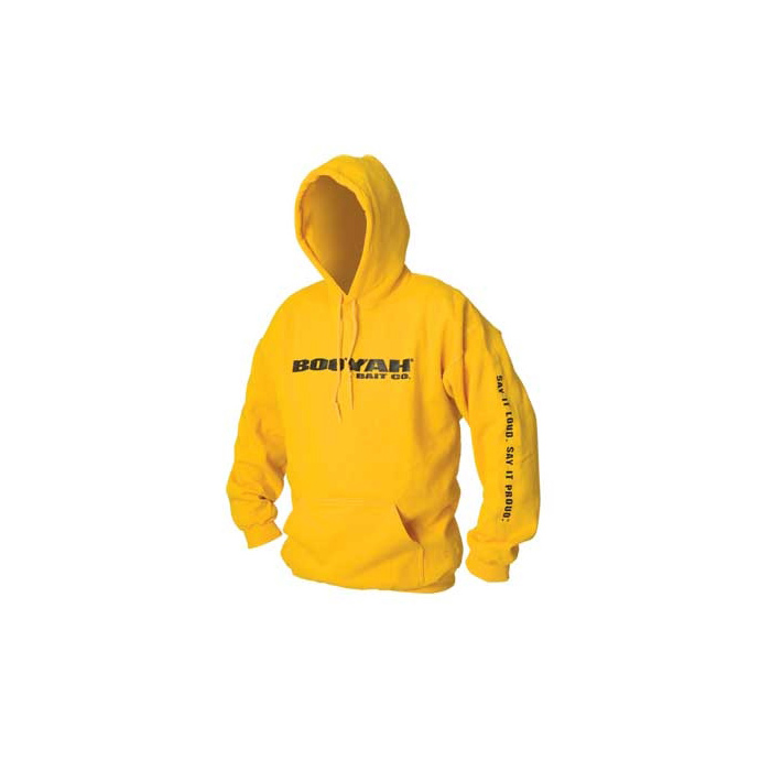 Booyah Hooded Pullover Gold