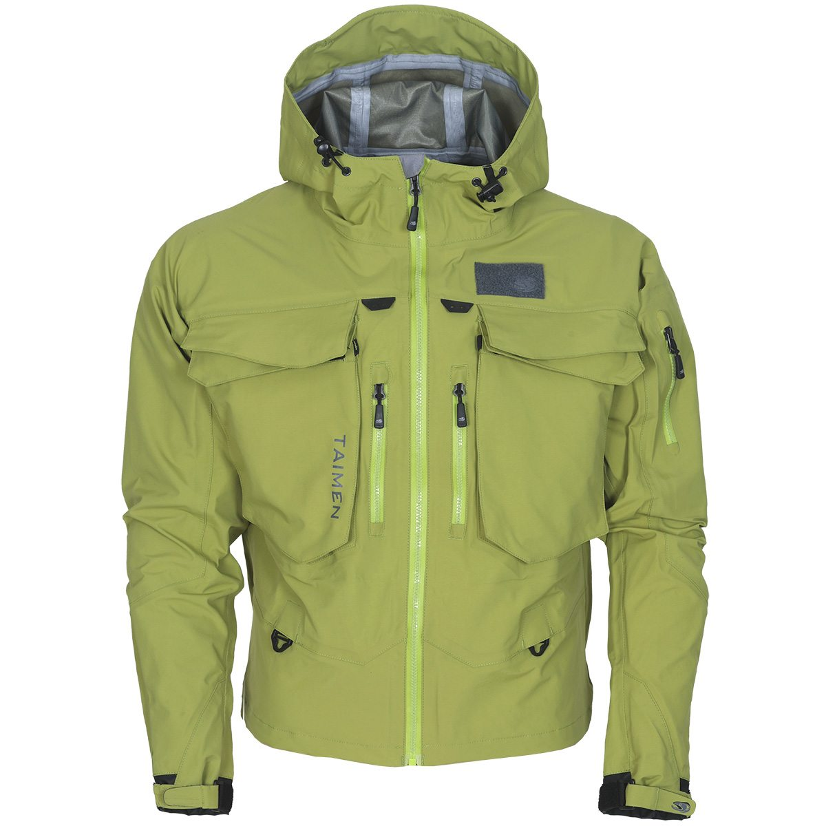Taimen Ponoy Wading Jacket - Golden Lime